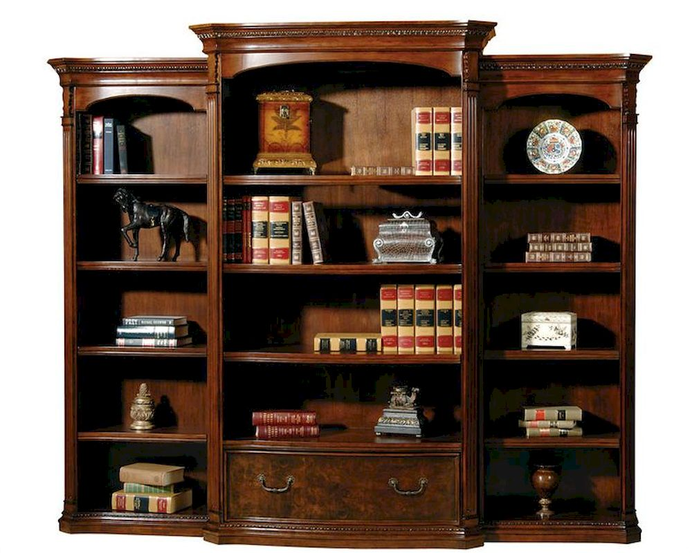 Bookcase Wall Old World By Hekman He 79164 Set