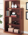 Bookcases Contemporary Asymmetrical Bookcase CO800256
