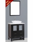 Bosconi 30in Single Square Vessel Sink Vanity BOAB130S
