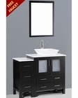 Bosconi 42in Single Square Vessel Sink Vanity BOAB130S1S