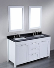 Bosconi Bathroom 60in Contemporary Double Vanity BOSB-267 (White)
