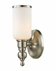 ELK Bristol Collection 1 light bath in Brushed Nickel EK-11580-1