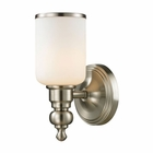 ELK Bristol Collection 1 light bath in Brushed Nickel - LED EK-11580-1-LED