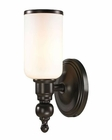 ELK Bristol Collection 1 light bath in Oil Rubbed Bronze EK-11590-1
