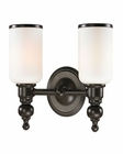 ELK Bristol Collection 2 light bath in Oil Rubbed Bronze EK-11591-2
