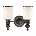 ELK Bristol Collection 2 light bath in Oil Rubbed Bronze- LED EK-11591-2-LED