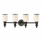 ELK Bristol Collection 4 light bath in Oil Rubbed Bronze - LED EK-11593-4-LED