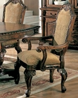 Brown Cherry Coaster Dining Arm Chair CO-100133 (Set of 2)