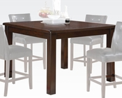 Brown Cherry Counter Height Table Easton by Acme Furniture AC71145