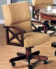 Brown Cherry Dining Arm Chair CO-100172