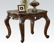 Brown Cherry End Table Remington by Acme Furniture AC80065