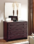 Brown Dresser and Mirror Isabel in Modern Style Made in Spain 33B354