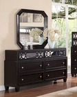 Brown Dresser w/ Mirror MCFB372-DM