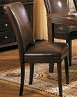 Brown Parson Dining Chair CO-4077BRN (Set of 2)