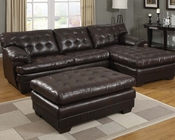 Brown Sectional Sofa Set Nigel by Acme Furniture AC50770SET