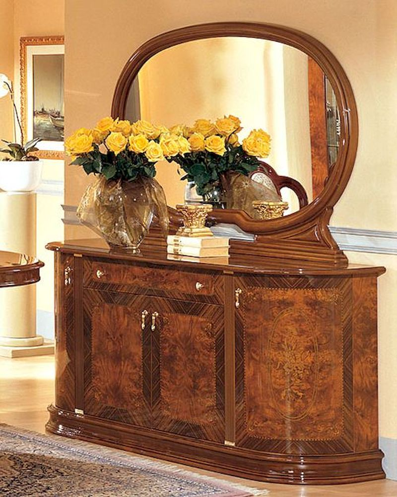 Buffet and mirror minerva european design made in italy 33d35 for Design made in italy