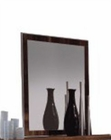 Buffet Mirror in High Gloss Walnut Finish 33D67
