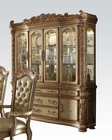 Buffet w/ Hutch Vendome Gold by Acme Furniture AC63005
