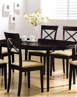 Cappuccino Oval Dining Table CO-100770
