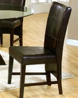 Cappuccino Parson Dining Chair CO-100972 (Set of 2)