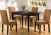 Cappuccino Wood Dinette Set CO-10049s