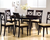 Cappuccino Wood Dinette Set CO-100770s