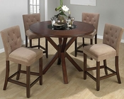 Carlsbad Cherry Counter Height Dining Set JO-888-52Hs-1