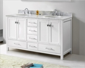 Caroline Avenue 60in White Vanity by Virtu USA VU-GD-50060-CAB-WH