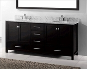 Caroline Avenue 72in Espresso Vanity by Virtu USA VU-GD-50072-CAB-ES