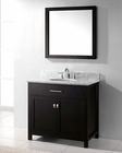 Caroline Espresso Single Bathroom Set by Virtu USA VU-MS-2036-WM-ES