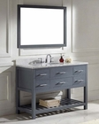 Caroline Estate Grey 48in Bathroom Set by Virtu USA VU-MS-2248-WM-GR