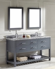 Caroline Estate Grey Dbl Bathroom Set by Virtu USA VU-MD-22-WMRO-GR