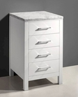 "Caroline Parkway White 20"" Side Cabinet by Virtu USA VU-MDC-2120-WH"