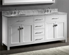 Caroline Parkway White 72in Vanity by Virtu USA VU-MD-2072-CAB-WH