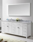 Caroline Parkway White Bathroom Set by Virtu USA VU-MD-2178-WMRO-WH