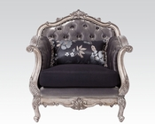 Chair in Antique Platinum Chantelle by Acme Furniture AC51542