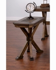 Chair Side Table Savannah by Sunny Designs SU-3237AC-CS