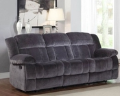 Charcoal Double Reclining Sofa Laurelton by Homelegance EL-9636CC-3