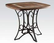 Cherry Counter Height Table Hakesa by Acme Furniture AC72255