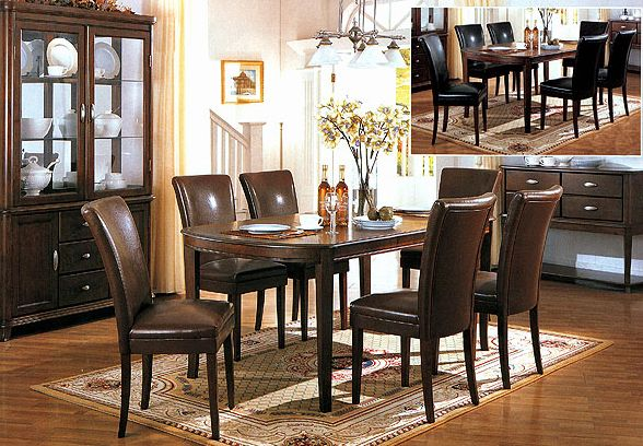 Cherry Finish Dining Room Set Co 3651s