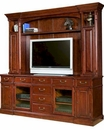 Cherry Finish Entertainment Credenza w/ Hutch by Hekman HE-81542CH