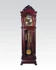 Cherry Finish Grandfather Clock by Acme Furniture AC01408