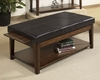 Cherry Finish Lift-Top Cocktail Table Davis by Somerton SO-625-15