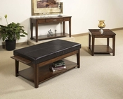 Cherry Finish Occasional Table Set Davis by Somerton SO-625-15SET
