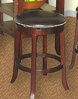 Cherry Finish Swivel Bar Stool SU-1782CA (Set of 2)