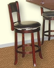 Cherry Finish Swivel Bar Stool SU-1882CA (Set of 2)