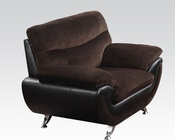 Chocolate Champion Chair Wilona by Acme Furniture AC51277
