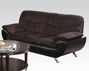 Chocolate Champion Sofa Wilona by Acme Furniture AC51275