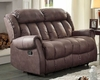 Chocolate Double Reclining Loveseat Mankato by Homelegance EL-8535CH-2