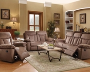 Chocolate Motion Sofa Set Elisha by Acme Furniture AC51425SET